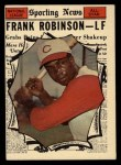 1961 Topps #581   -  Frank Robinson All-Star Front Thumbnail
