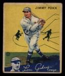 1934 Goudey #1  Jimmie Foxx  Front Thumbnail