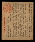 1950 Bowman #125  Tom Kalmanir  Back Thumbnail
