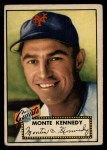 1952 Topps #124  Monte Kennedy  Front Thumbnail