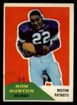 1960 Fleer #130  Ron Burton  Front Thumbnail