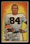 1951 Bowman #39  Ken Carpenter  Front Thumbnail
