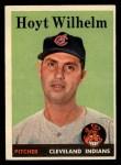 1958 Topps #324  Hoyt Wilhelm  Front Thumbnail