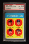 1963 Topps #544   -  Rusty Staub / Dick Phillips / Bill Haas / Duke Carmel Rookie Stars   Front Thumbnail