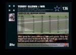 2007 Topps #136  Terry Glenn  Back Thumbnail