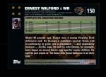 2007 Topps #150  Ernest Wilford  Back Thumbnail