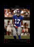 2007 Topps #165  Plaxico Burress  Front Thumbnail