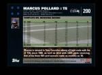 2007 Topps #200  Marcus Pollard  Back Thumbnail