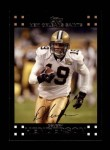 2007 Topps #162  Devery Henderson  Front Thumbnail