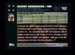 2007 Topps #162  Devery Henderson  Back Thumbnail