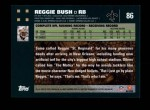 2007 Topps #86  Reggie Bush  Back Thumbnail