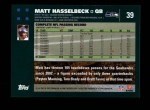2007 Topps #39  Matt Hasselbeck  Back Thumbnail