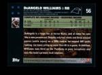 2007 Topps #56  DeAngelo Williams  Back Thumbnail