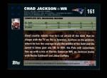 2007 Topps #161  Chad Jackson  Back Thumbnail