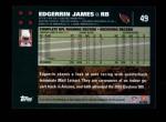 2007 Topps #49  Edgerrin James  Back Thumbnail