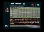 2007 Topps #35  Jeff Garcia  Back Thumbnail