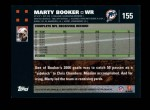 2007 Topps #155  Marty Booker  Back Thumbnail