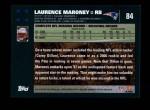 2007 Topps #84  Laurence Maroney  Back Thumbnail