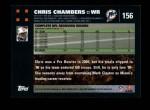 2007 Topps #156  Chris Chambers  Back Thumbnail