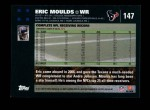 2007 Topps #147  Eric Moulds  Back Thumbnail