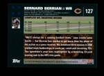 2007 Topps #127  Bernard Berrian  Back Thumbnail