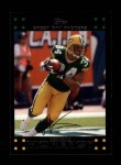 2007 Topps #70  Vernand Morency  Front Thumbnail