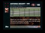 2007 Topps #180  Antonio Bryant  Back Thumbnail