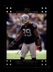 2007 Topps #171  Ronald Curry  Front Thumbnail