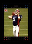 2007 Topps #291  Trent Edwards  Front Thumbnail