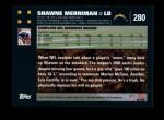 2007 Topps #280  Shawne Merriman  Back Thumbnail