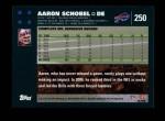 2007 Topps #250  Aaron Schobel  Back Thumbnail