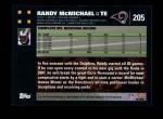 2007 Topps #205  Randy McMichael  Back Thumbnail
