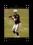 2007 Topps #286  JaMarcus Russell  Front Thumbnail