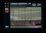 2007 Topps #234  Charles Woodson  Back Thumbnail