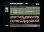 2007 Topps #257  Dwight Freeney  Back Thumbnail