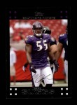 2007 Topps #249  Terrell Suggs  Front Thumbnail