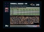 2007 Topps #249  Terrell Suggs  Back Thumbnail