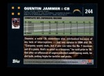 2007 Topps #244  Quentin Jammer  Back Thumbnail