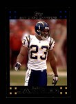 2007 Topps #244  Quentin Jammer  Front Thumbnail
