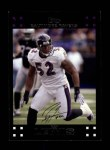 2007 Topps #268  Ray Lewis  Front Thumbnail