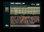 2007 Topps #289  Troy Smith  Back Thumbnail