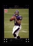 2007 Topps #289  Troy Smith  Front Thumbnail