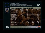 2007 Topps #434  Robbie Gould  Back Thumbnail