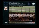 2007 Topps #202  Dallas Clark  Back Thumbnail
