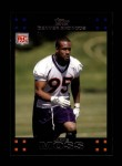 2007 Topps #354  Jarvis Moss  Front Thumbnail