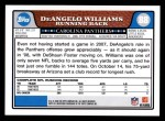 2008 Topps #88  DeAngelo Williams  Back Thumbnail