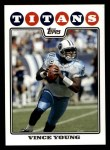 2008 Topps #36  Vince Young  Front Thumbnail