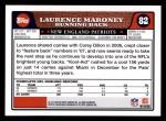 2008 Topps #82  Laurence Maroney  Back Thumbnail