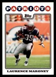 2008 Topps #82  Laurence Maroney  Front Thumbnail