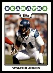 2008 Topps #279  Walter Jones  Front Thumbnail